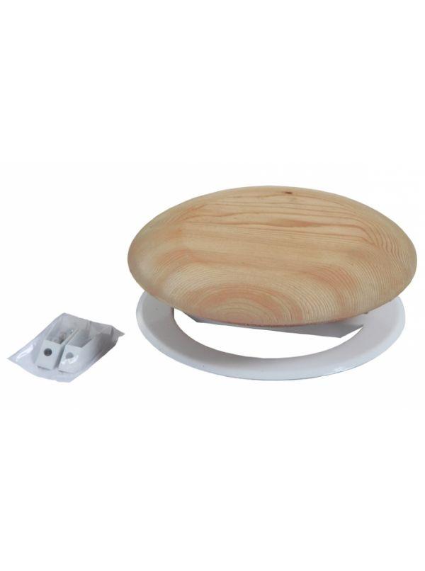 Zawór wentylacyjny/anemostat 125mm sosna - Harvia
