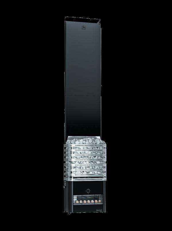 Zestaw Saunum Primary z piecem elektrycznym 4,5kW - czarny