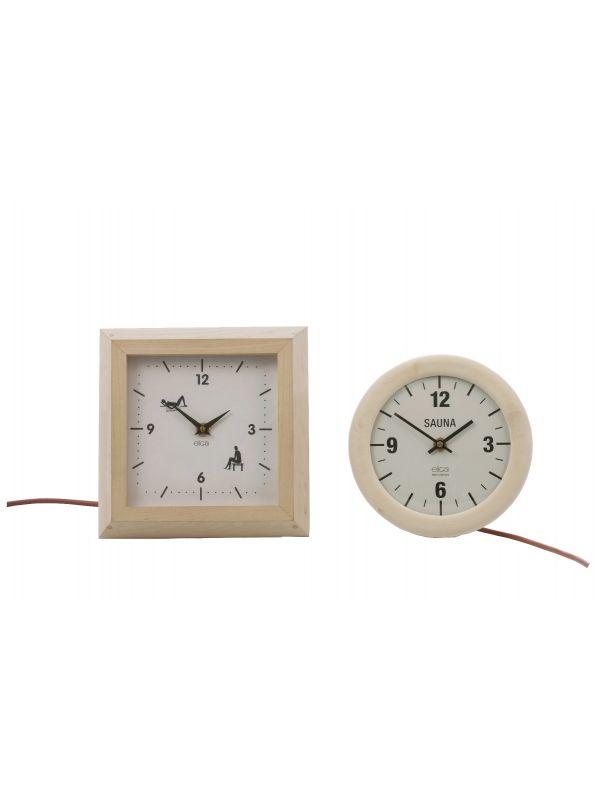 Zegar saunowy Eliga- elektryczny do 120st. okrągły