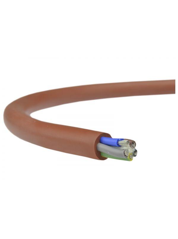 Przewód silikonowy - kabel SIHF 5 x 0,75mm2