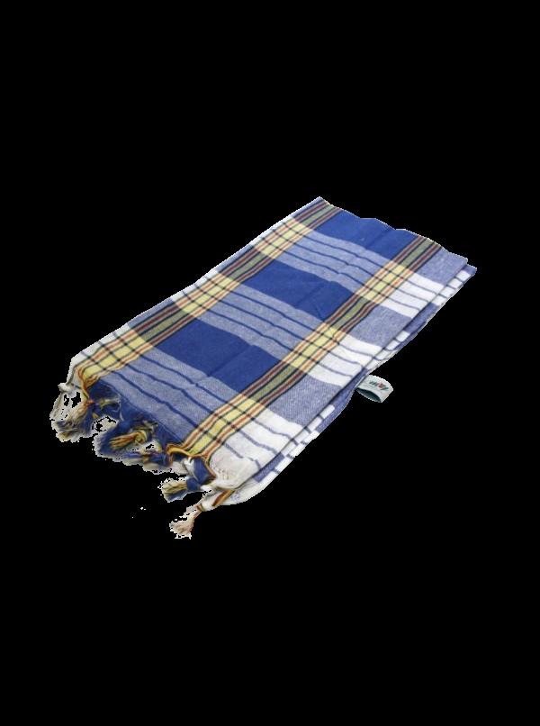 Chusta Hammam Do Sauny 80 X 170 Cm Niebieska BASSAU