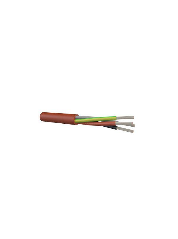 Przewód silikonowy kabel SIHF 5x2,5mm2 1mb