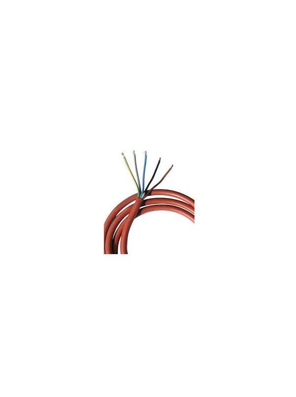 Przewód silikonowy kabel SIHF 5x1,5mm2 1mb