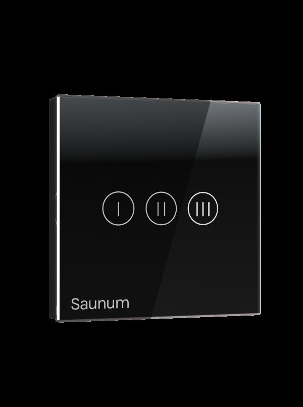 Włącznik SAUNUM one touch - czarny