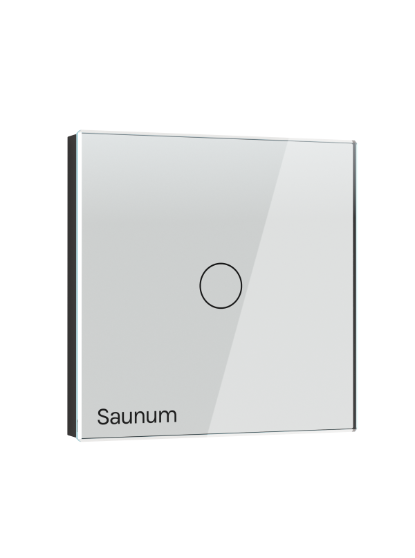 Włącznik SAUNUM one touch - biały
