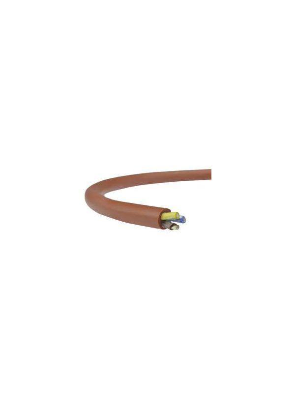 Przewód silikonowy kabel do sauny SIHF 3x1,5mm2 1mb