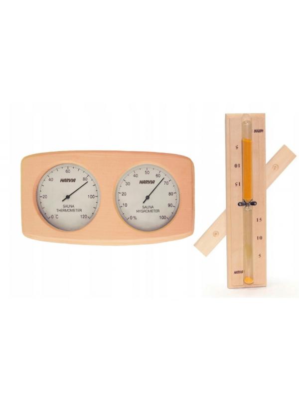 Termohigrometr klepsydra Harvia - zestaw do sauny