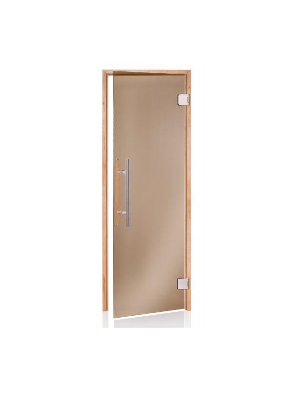 Drzwi do sauny w ramie drewnianej Andres Premium - 690*2090mm