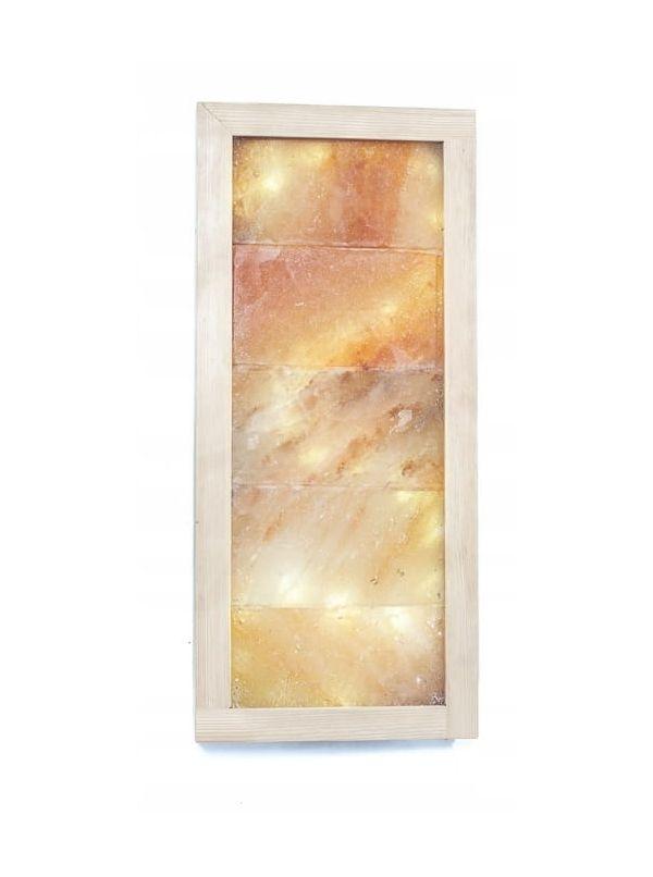 Panel solny prostokątny LED płaski wym. 56x26cm