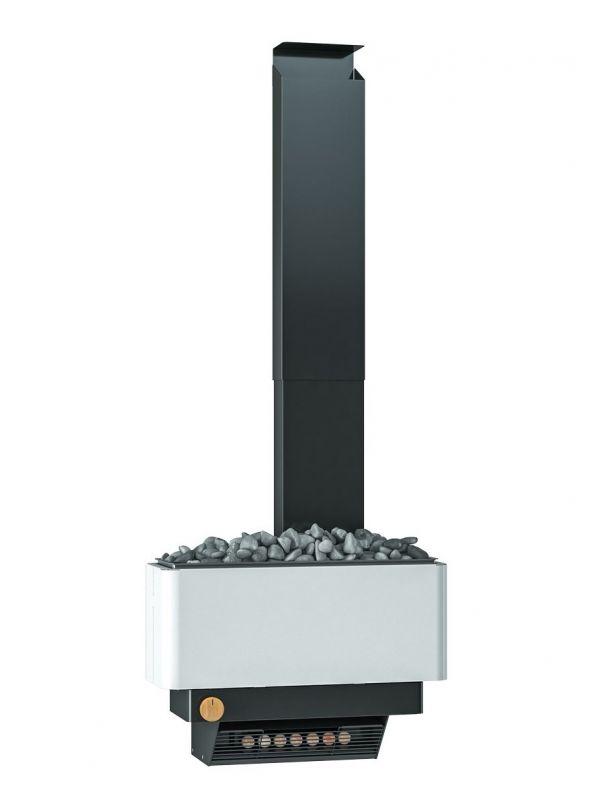 Zestaw  Saunum Premium z piecem elektrycznym 6kW - biały