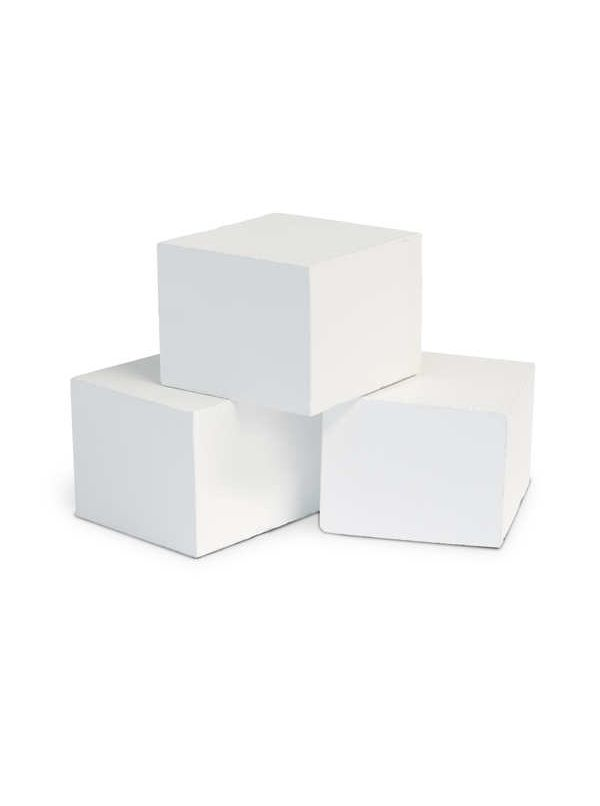 Kamienie EOS Mythos Cubius białe, do S35 (20szt)