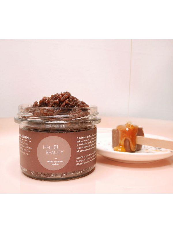 Peeling solny - czekolada z miodem by Lullalove