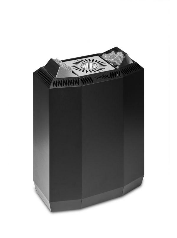 Piec do sauny z parownikiem FinTec KAISA 8kW Czarny Antracyt