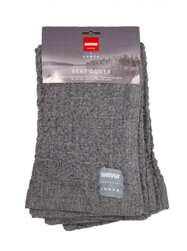 Zestaw ręczników ławkowych Harvia by Luhta 2 szt. 45x50