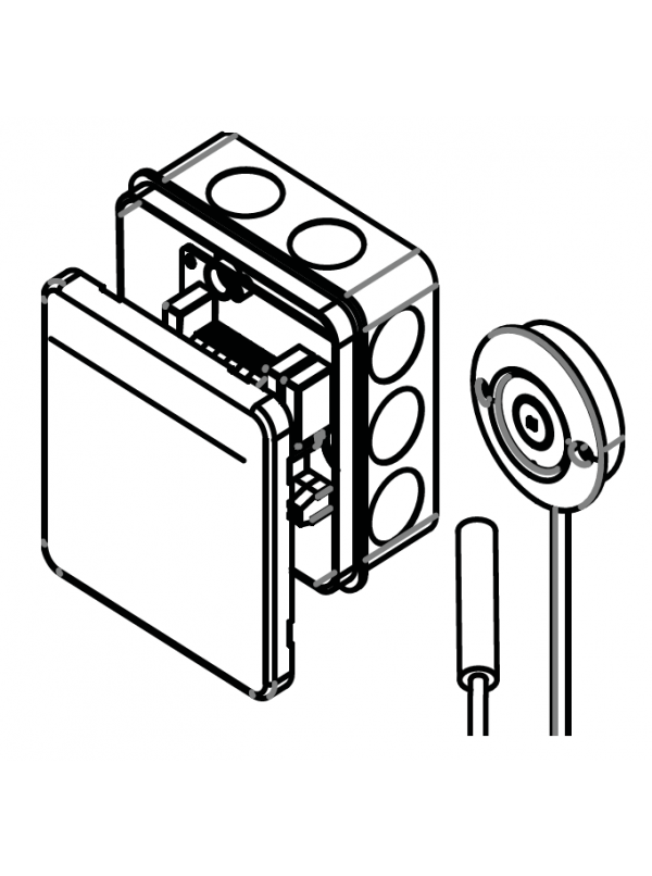System czujników drzwiowych do sterowników HARVIA SAB00102