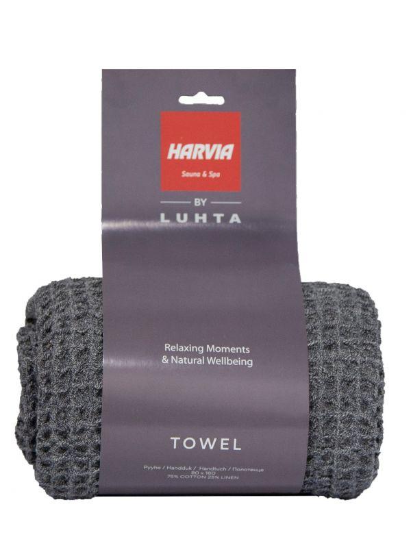 Ręcznik bawełniano lniany 80x160cm Harvia by Luhta
