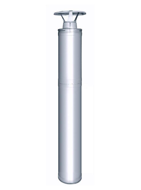 Kompletny system kominowy do pieców Harvia - Stal nierdzewna 1500mm