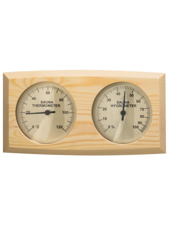 Termohigrometr Termometr do sauny Sawo Sosna