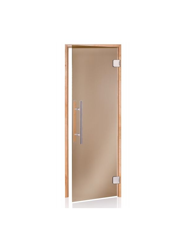 Drzwi do sauny w ramie drewnianej Andres Premium - 790*1990mm