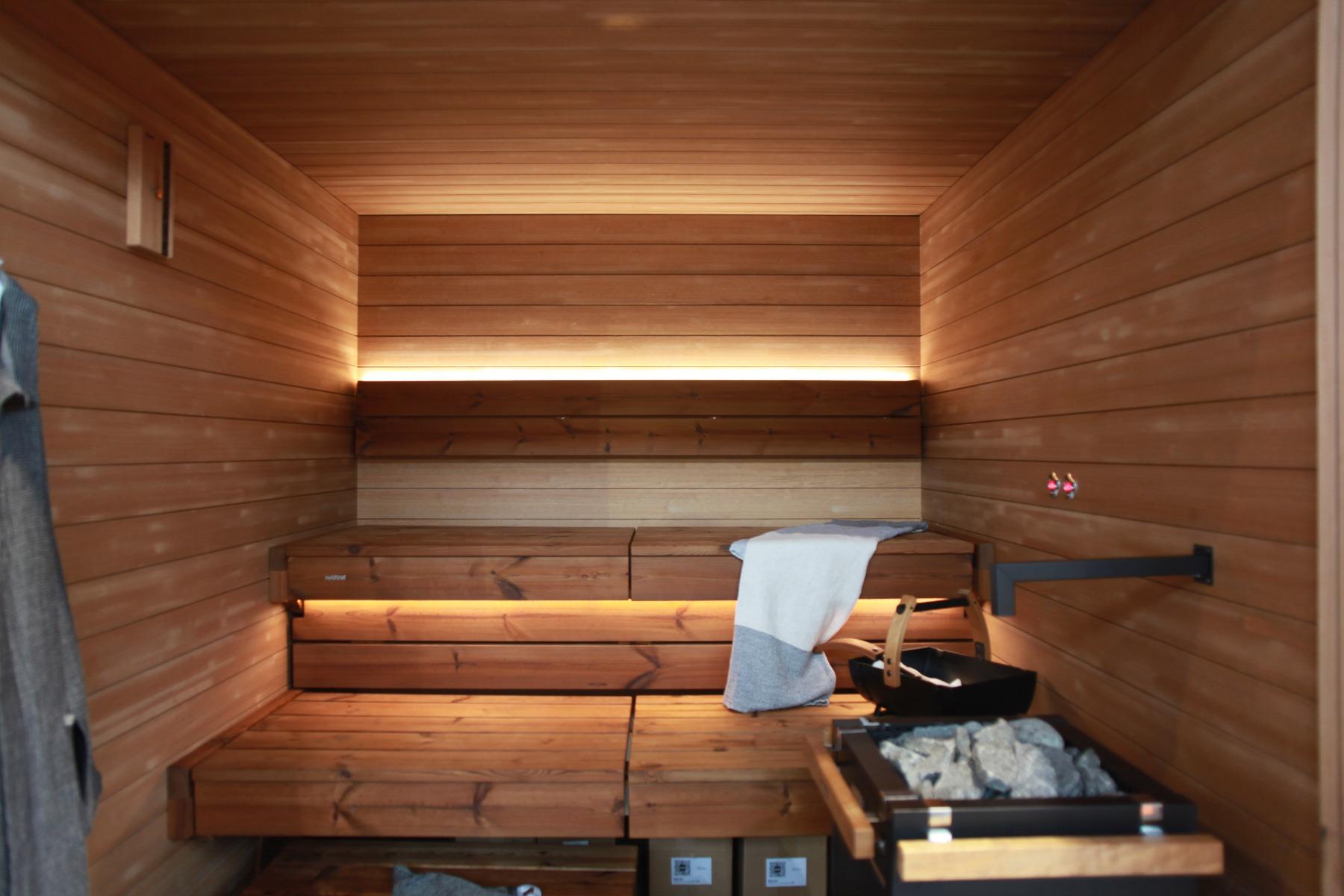Sauna cedr i świerk