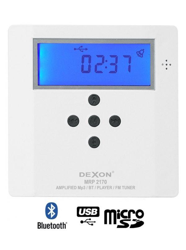 Dexon MRP 2170 - odtwarzacz ścienny ze wzmacniaczem