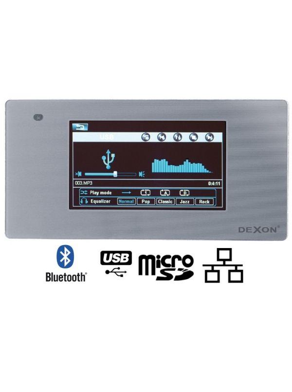 Dexon MRP 2200 - odtwarzacz ścienny ze wzmacniaczem