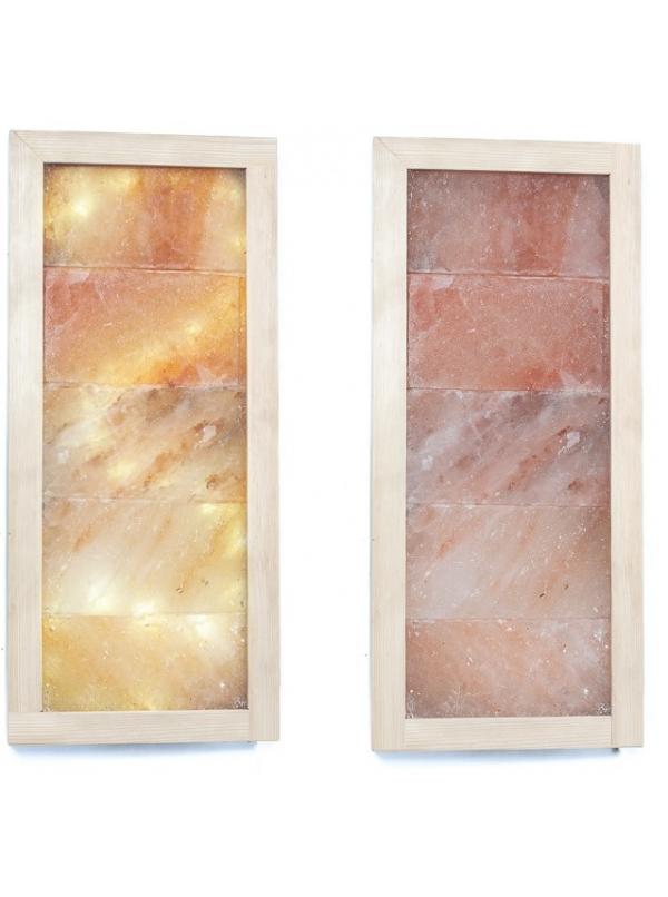 Panel solny prostokątny płaski wym. 56x26cm