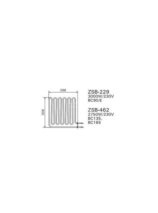 Grzałka Harvia - do pieca BC90 (E) ZSB-229 3000W/230V