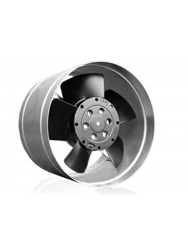 Wentylator do sauny - wentylator kanałowy - osiowy, metalowy 100mm