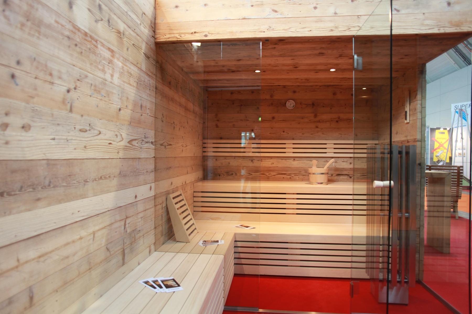 Świerk postarzany sauna